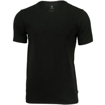 Textil Homem T-Shirt mangas curtas Nimbus NB73M Preto
