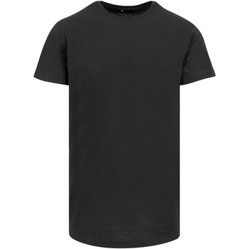 Textil Homem T-Shirt mangas curtas Build Your Brand Shaped Preto