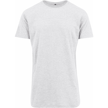 Textil Homem T-Shirt mangas curtas Build Your Brand Shaped Branco