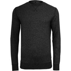 Textil Homem camisolas Build Your Brand BY010 Preto