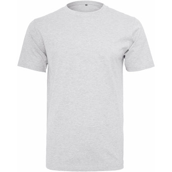 Textil Homem T-Shirt mangas curtas Build Your Brand Round Neck Branco