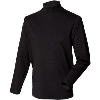Textil Homem camisolas Henbury HB020 Preto