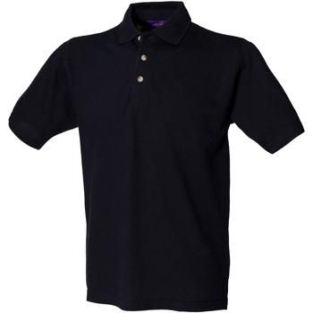 Textil Homem Polos mangas curta Henbury HB100 Marinha