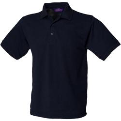 Textil Homem Polos mangas curta Henbury HB400 Marinha