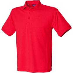 Textil Homem Polos mangas curta Henbury HB400 Vermelho