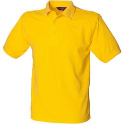 Textil Homem Polos mangas curta Henbury HB400 Amarelo