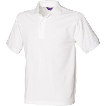 Textil Homem Polos mangas curta Henbury HB400 Branco