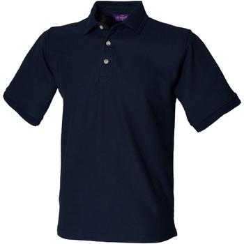 Textil Homem Polos mangas curta Henbury HB410 Marinha