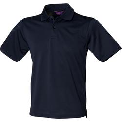 Textil Homem Polos mangas curta Henbury HB475 Marinha
