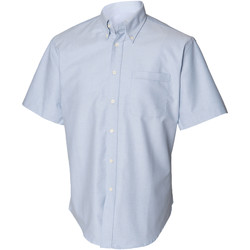 Textil Homem Camisas mangas curtas Henbury HB515 Azul