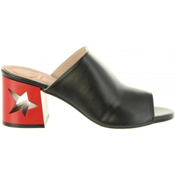 Sapatos Mulher chinelos MTNG 50718 GENTLE Negro
