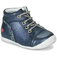 Sapatos Rapariga Botas baixas GBB ROSEMARIE Marinho
