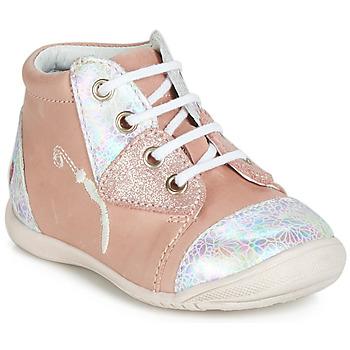 Sapatos Rapariga Sapatilhas de cano-alto GBB VERONA Rosa