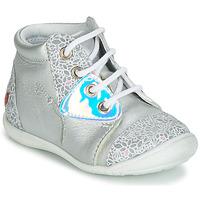 Sapatos Rapariga Sapatilhas de cano-alto GBB VERONA Prata
