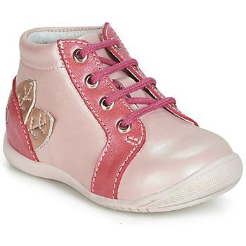 Sapatos Rapariga Sapatilhas de cano-alto GBB FRANCKIE Rosa