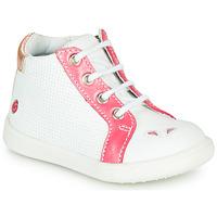 Sapatos Rapariga Sapatilhas de cano-alto GBB FAMIA Branco - coral
