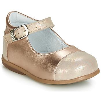 Sapatos Rapariga Sabrinas GBB BELISTO Rosa / Ouro