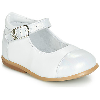 Sapatos Rapariga Sapatilhas de cano-alto GBB BELISTO Branco