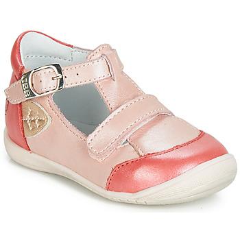 Sapatos Rapariga Sapatilhas de cano-alto GBB ZENNIA Rosa