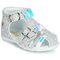 Sapatos Rapariga Sandálias GBB RIVIERA Prata