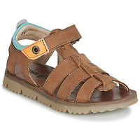 Sapatos Rapaz Sandálias GBB PATHE Castanho