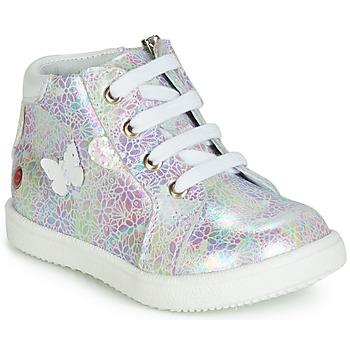 Sapatos Rapariga Sapatilhas de cano-alto GBB MEFITA Rosa