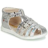 Sapatos Rapariga Sandálias GBB PERLE Prata