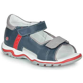 Sapatos Criança Sandálias GBB PARMO Azul