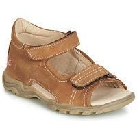 Sapatos Criança Sandálias GBB PARMO Castanho