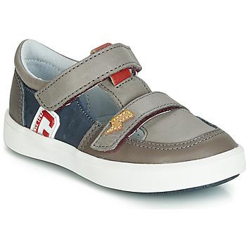 Sapatos Rapaz Sapatilhas GBB VARNO Cinza / Marinho