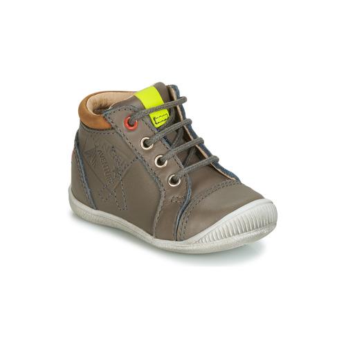 Sapatos Rapaz Sapatilhas de cano-alto GBB TARAVI Cinza