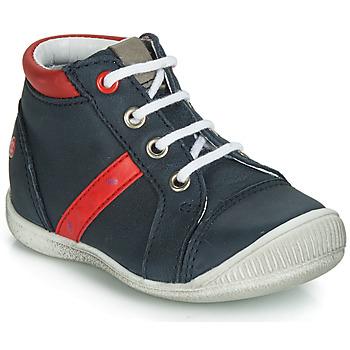Sapatos Rapaz Sapatilhas de cano-alto GBB TARAVI Marinho / Vermelho
