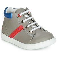 Sapatos Rapaz Sapatilhas de cano-alto GBB FOLLIO Cinza / Azul