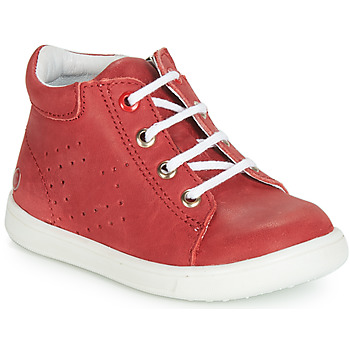 Sapatos Rapaz Sapatilhas de cano-alto GBB FOLLIO Vermelho