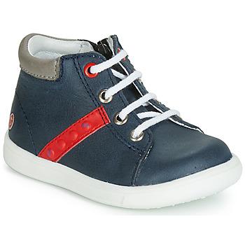 Sapatos Rapaz Sapatilhas de cano-alto GBB FOLLIO Azul