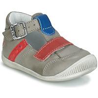 Sapatos Rapaz Sandálias GBB BALILO Cinza / Azul / Vermelho