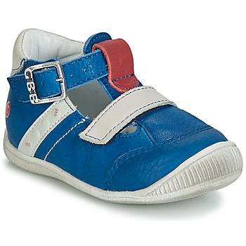 Sapatos Rapaz Sandálias GBB BALILO Azul / Cinza / Vermelho