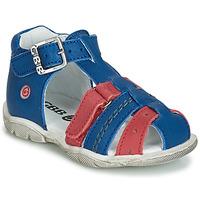 Sapatos Rapaz Sandálias GBB ARIGO Azul / Vermelho