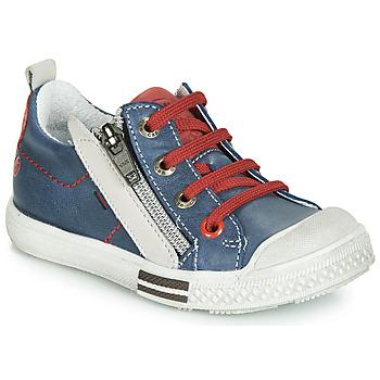 Sapatos Rapaz Sapatilhas GBB STELLIO Azul / Vermelho