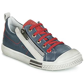 Sapatos Rapaz Sapatilhas GBB STELLIO Marinho / Vermelho