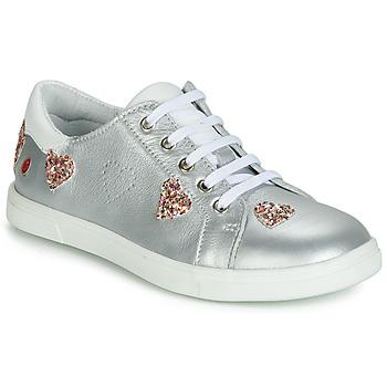 Sapatos Rapariga Sapatilhas GBB ASTOLA Prata