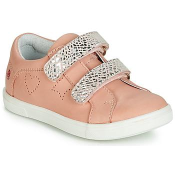 Sapatos Rapariga Sapatilhas GBB BALOTA Rosa / Prata