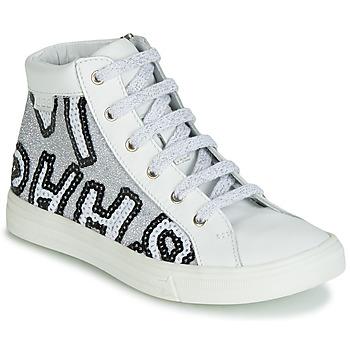 Sapatos Rapariga Sapatilhas de cano-alto GBB MARTA Branco