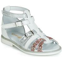 Sapatos Rapariga Sandálias GBB MONELA Branco