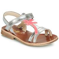 Sapatos Rapariga Sandálias GBB SAPELA Prata