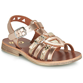 Sapatos Rapariga Sandálias GBB FANNI Rosa / Pele