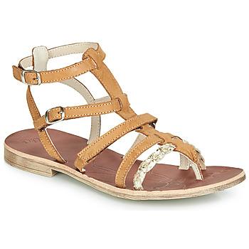 Sapatos Rapariga Sandálias GBB NOVARA Castanho