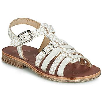 Sapatos Rapariga Sandálias GBB BANGKOK Bege / Branco