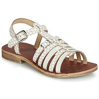Sapatos Rapariga Sandálias GBB BANGKOK Branco / Bege