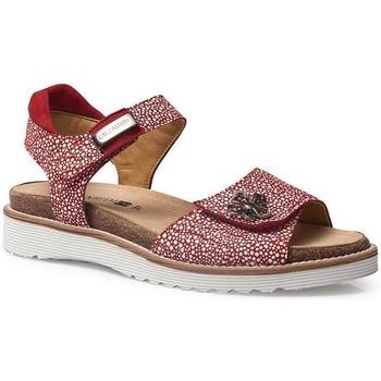 Sapatos Mulher Sandálias Calzamedi SANDÁLIAS  EURIA VERMELHO